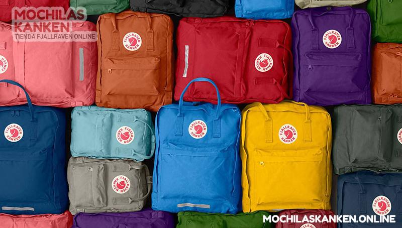 mochilas de colores kanken